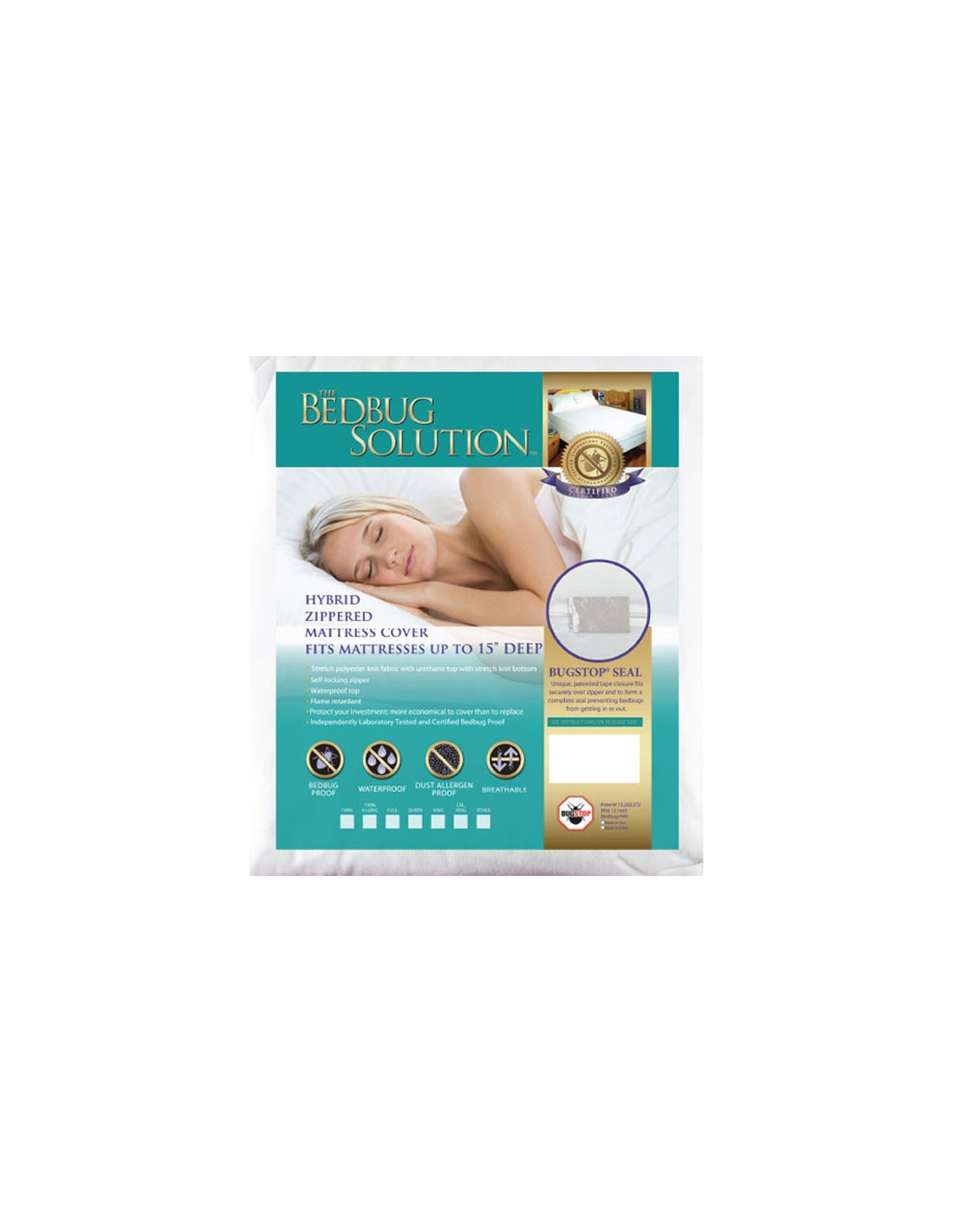 Full or Double Hybrid Mattress Cover 15 Inch Questions & Answers