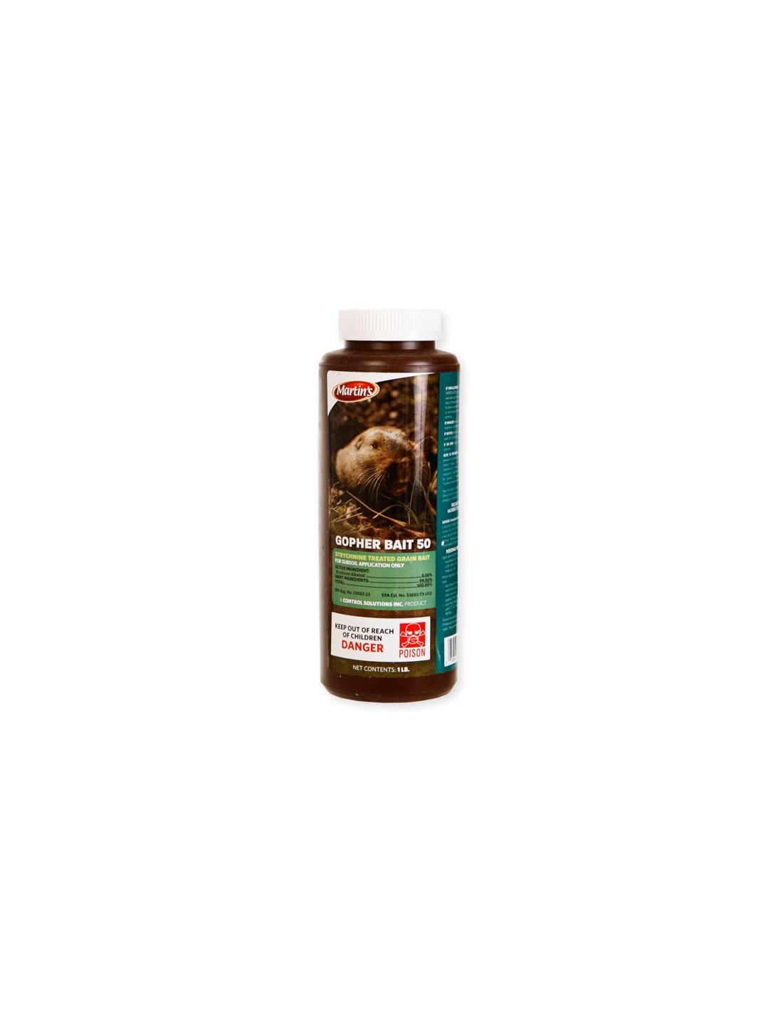 Is Martin's gopher bait 50 effective on moles?