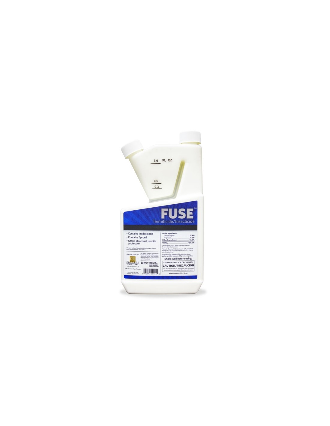 Does fuse termiticide/insecticide kill bed bugs