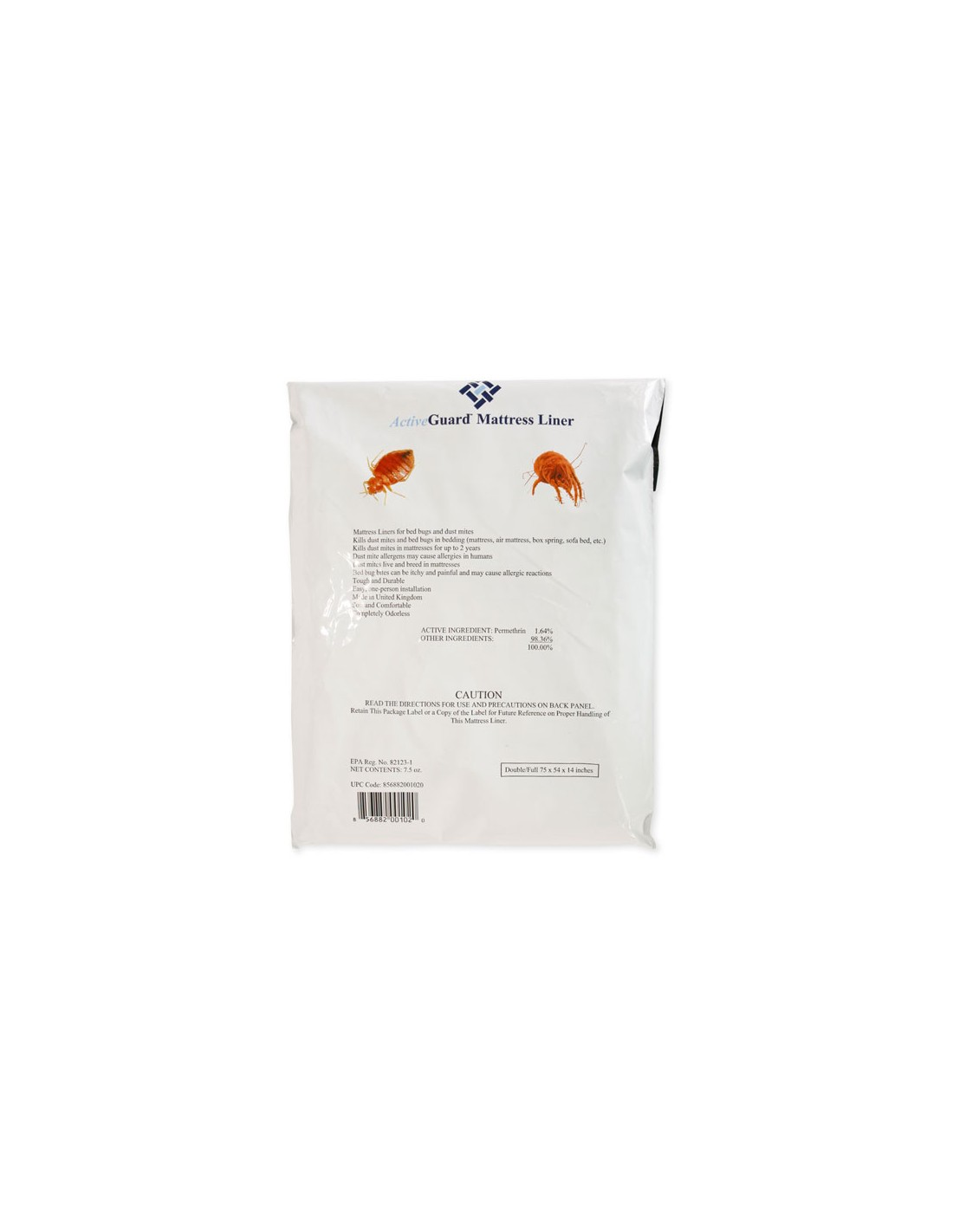 Double or Full ActiveGuard Mattress Liner