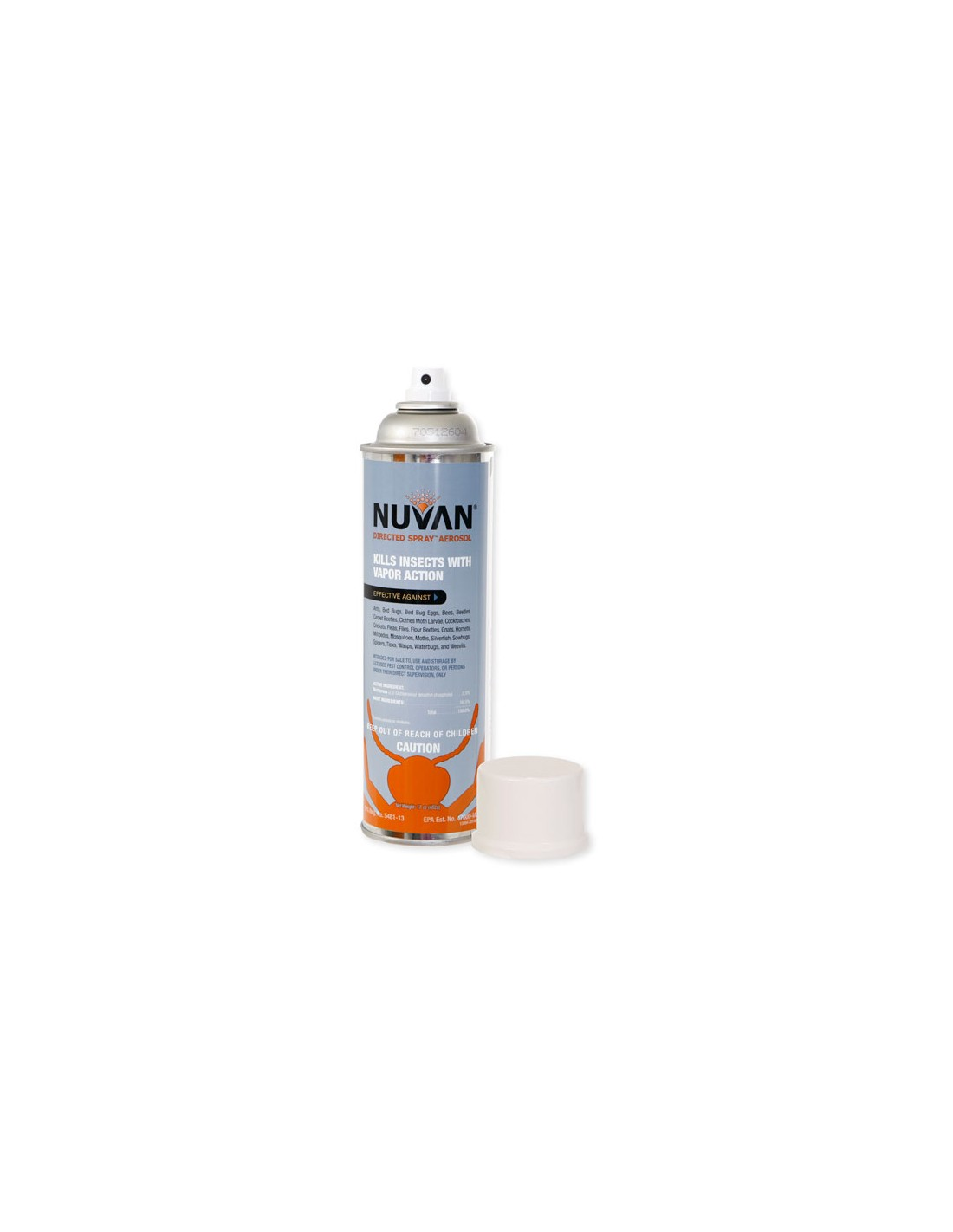 I bought a can of Nuvan spray and it still full and wont spray can i send it back for a new can
