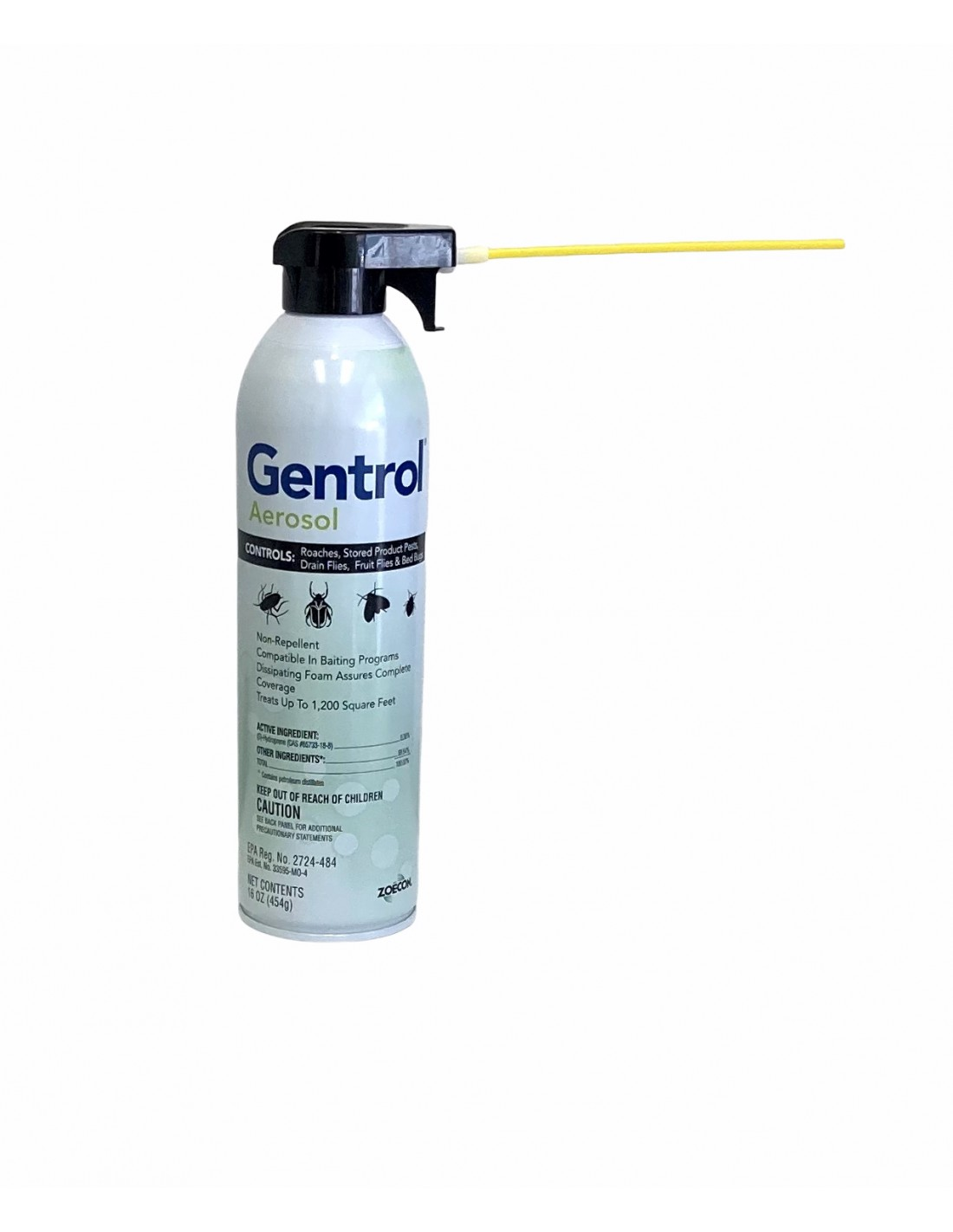 Can i put on gentrol aerosol then bedlam plus over it? Will they both work as will as sprayed alone?