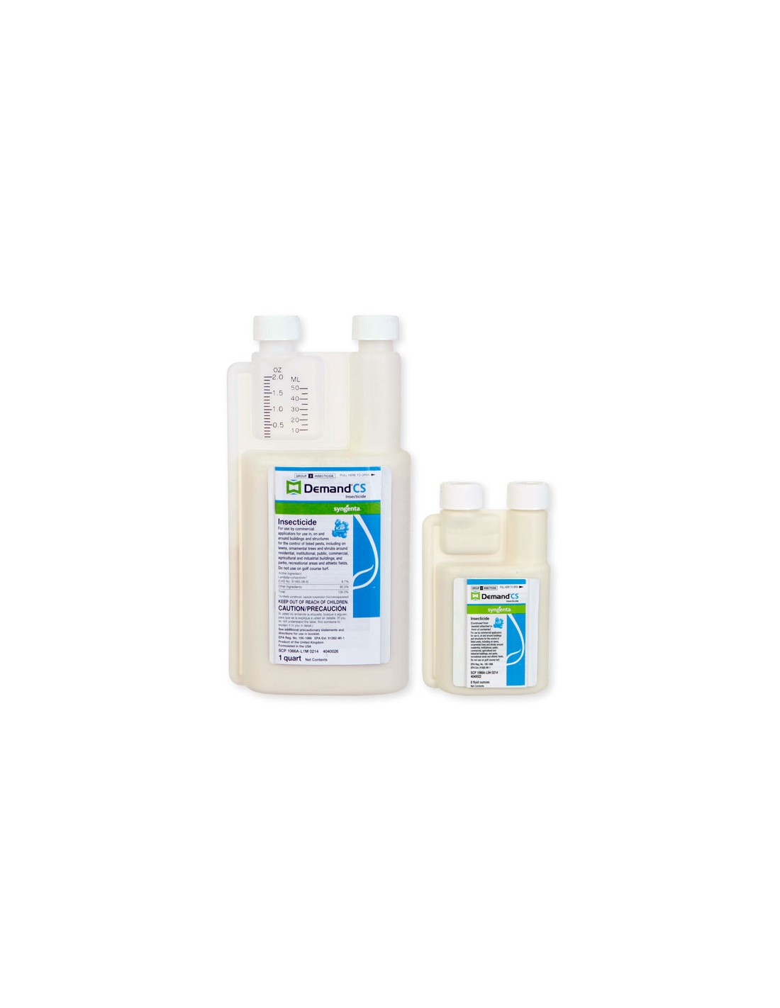 Can you mix precor igr with demand cs for indoor flea treatment and at what rate ? 1oz per gallon??