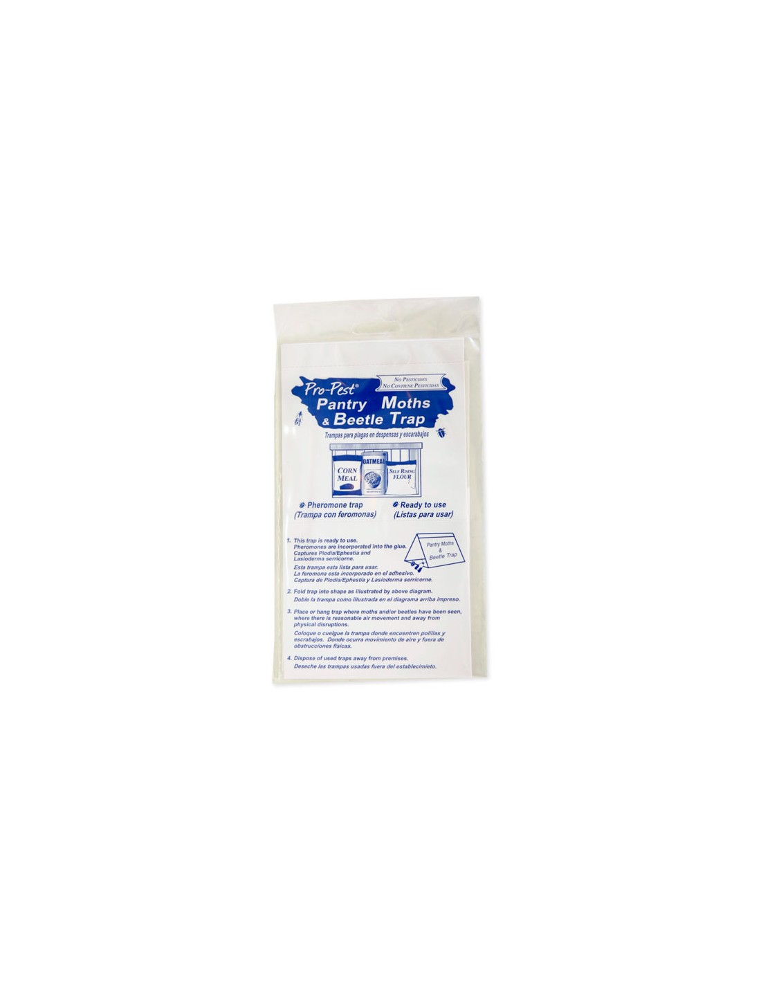 I purchased the Pro-Pest Pantry Moths & Beetle Trap for red flour beetles and they didn't work.
