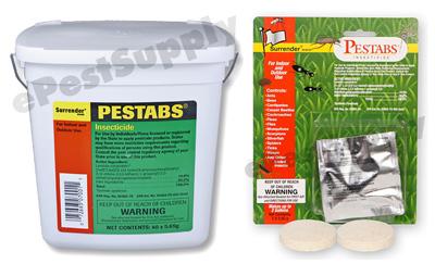 Surrender Pestabs Insecticide Tablets