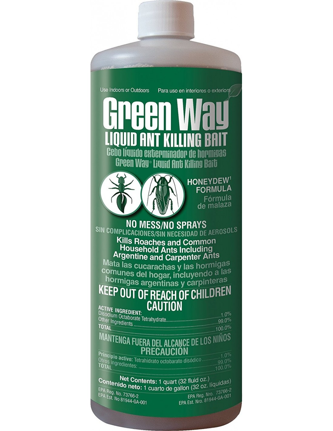 will gourmet liquid ant bait work for small pavement/black ants?