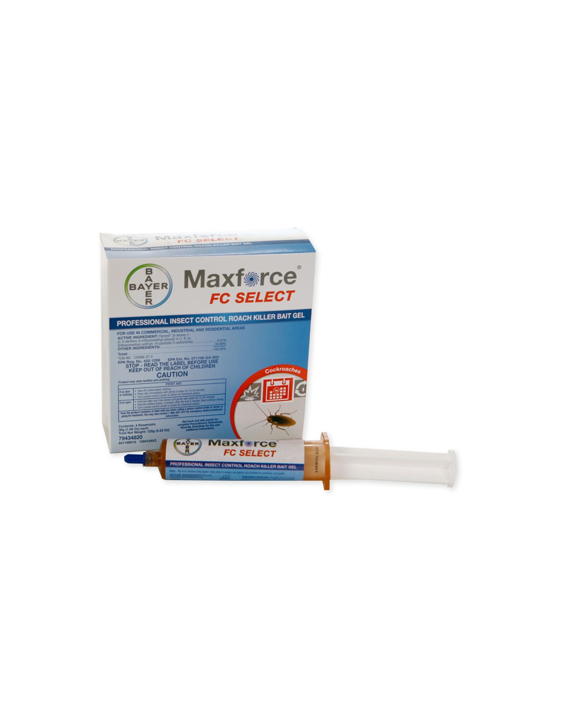 Maxforce FC Select 30 Gram Roach Killer Gel
