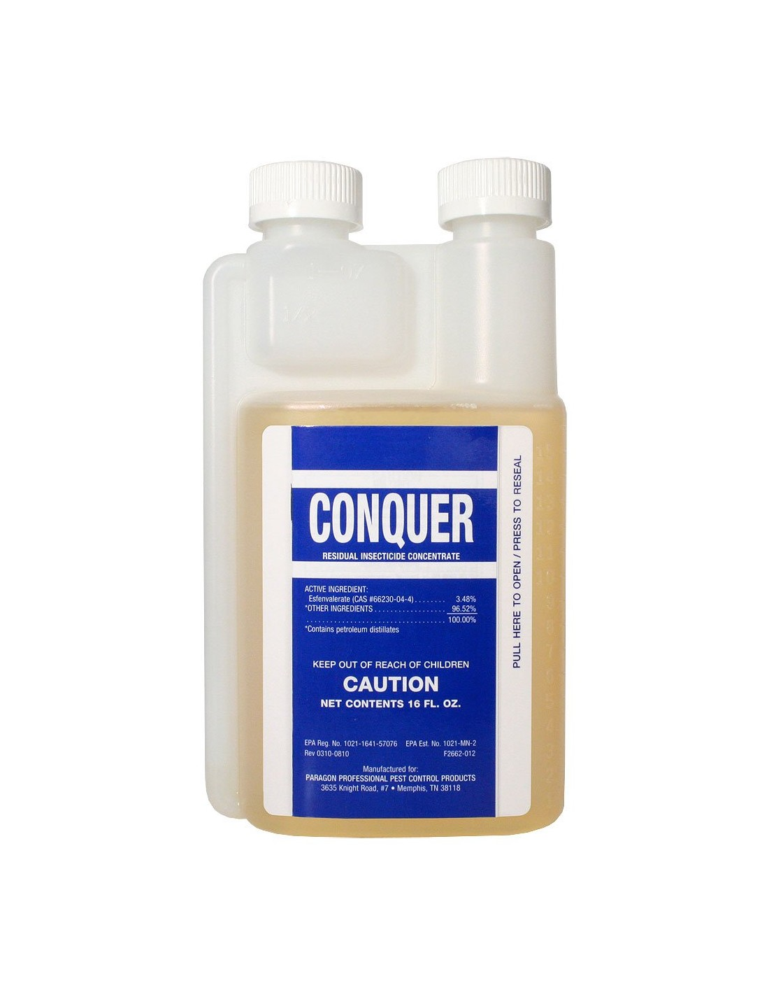 How long do you gave to use conquer after its mixed