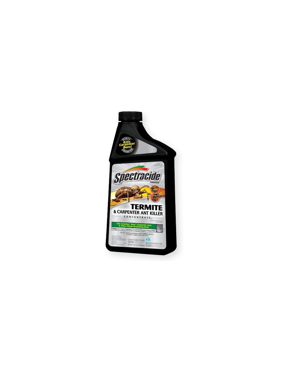 How much water per gallon do I add to Termite and carpenter ant killer concentrate