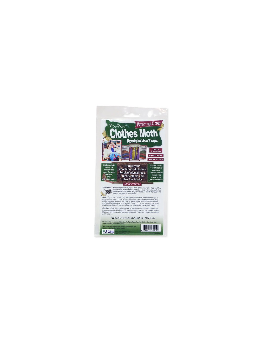 DOES THIS TRAP SMELL LIKE MOTH BALLS  I WOULD LIKE TO SIT THEM ON MY CLOTH CLOSET FLOOR OR DO I HANG THEM