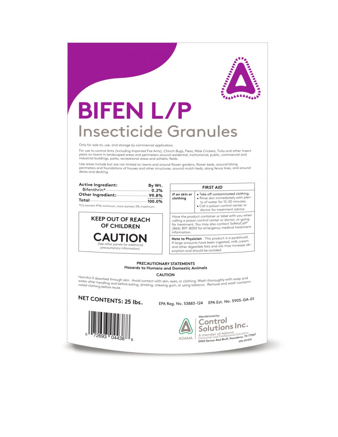 Does Bifen get rid of FLIES in your your yard. Flies are not mentioned as one of the pest it controls.