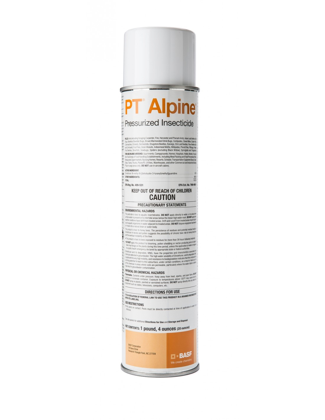 Alpine Pressurized Insecticide Spray