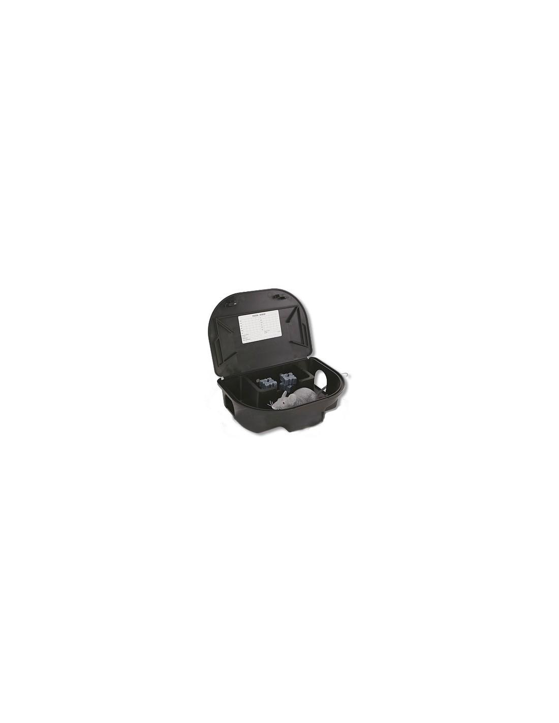 Which liquid rodent bait dispenser works with (EZKLEAN) bait station?