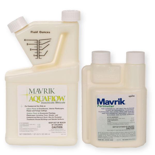 Mavrik Perimeter and AquaFlow Insecticide