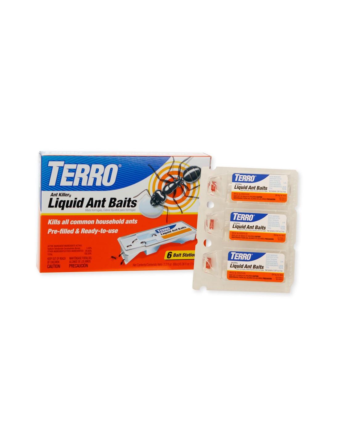 how do you open terro pco liquid ant killer