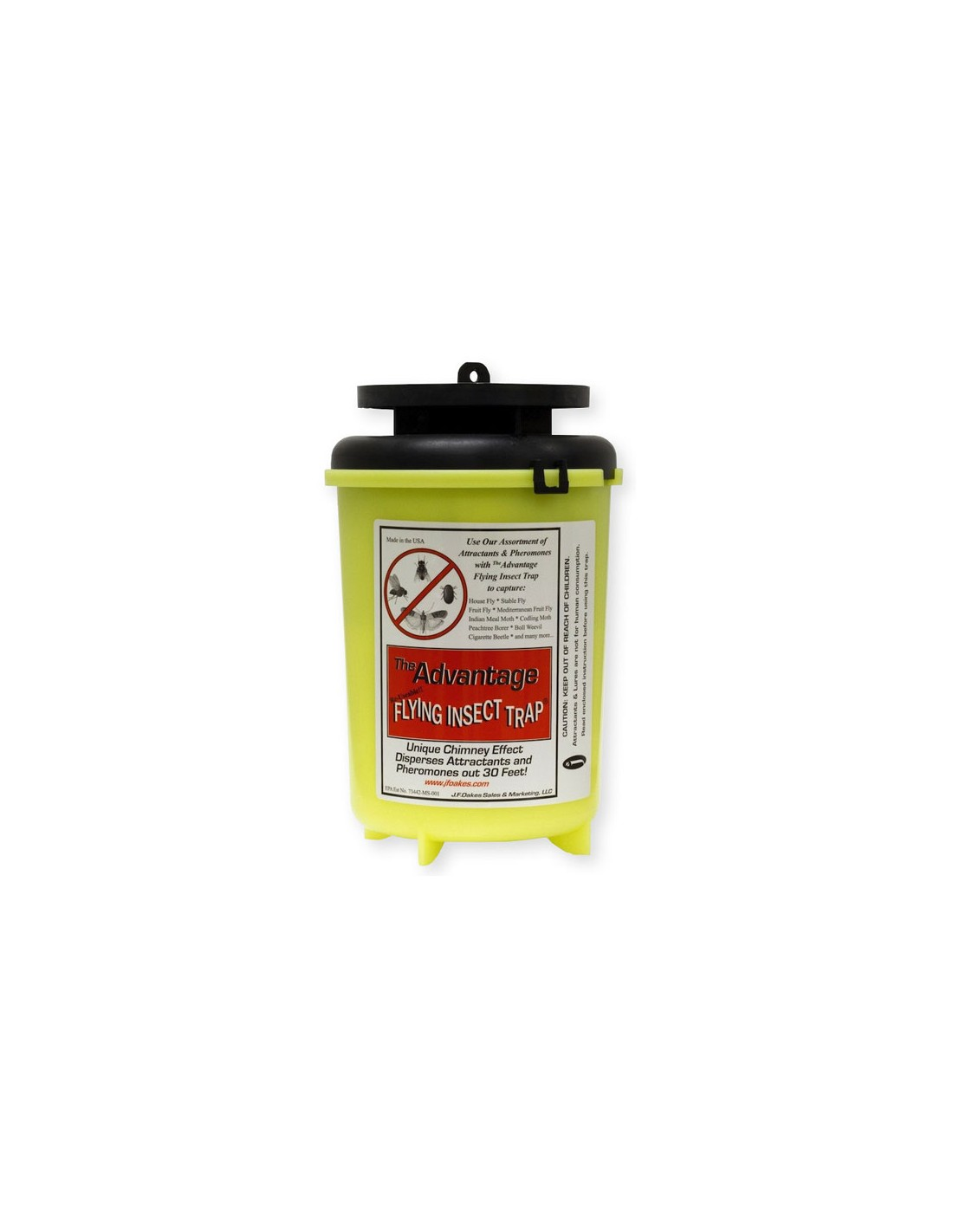 DOES THE ADVANTAGE FLYING INSECT AFFECT MOSQUITOES?