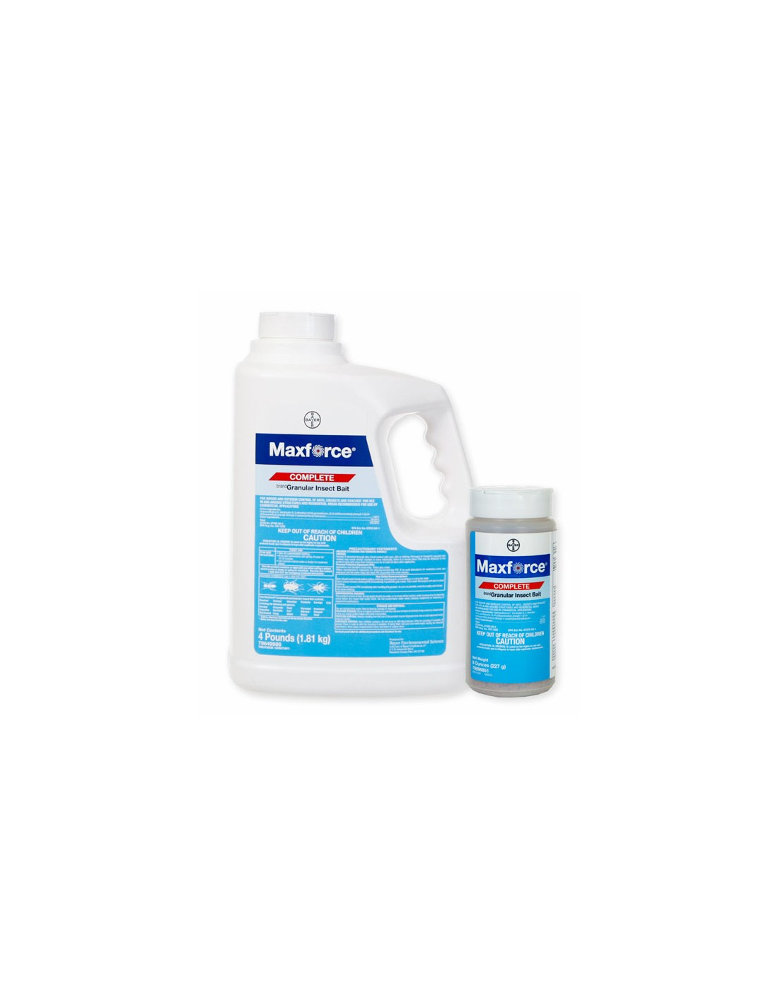 How do you apply the maxforce professional granular bait on short cut bentgrass and will it solve my problem