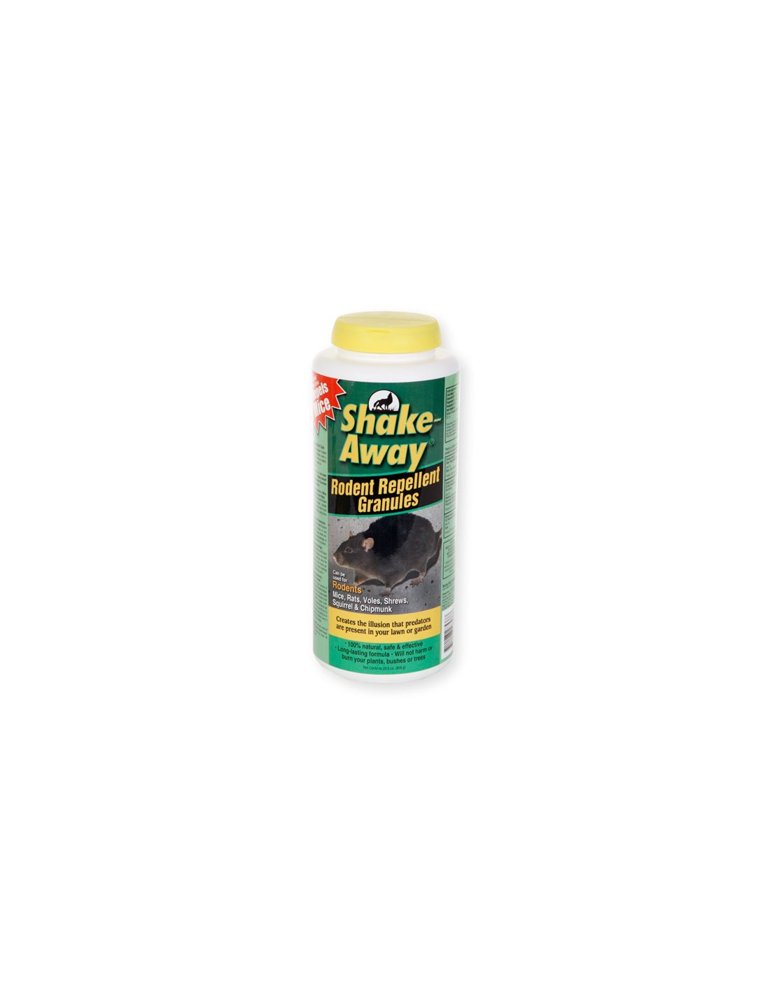 what may we use to repel voles/moles which have already tunneled extensively in the back yard????  Do the spikes wr