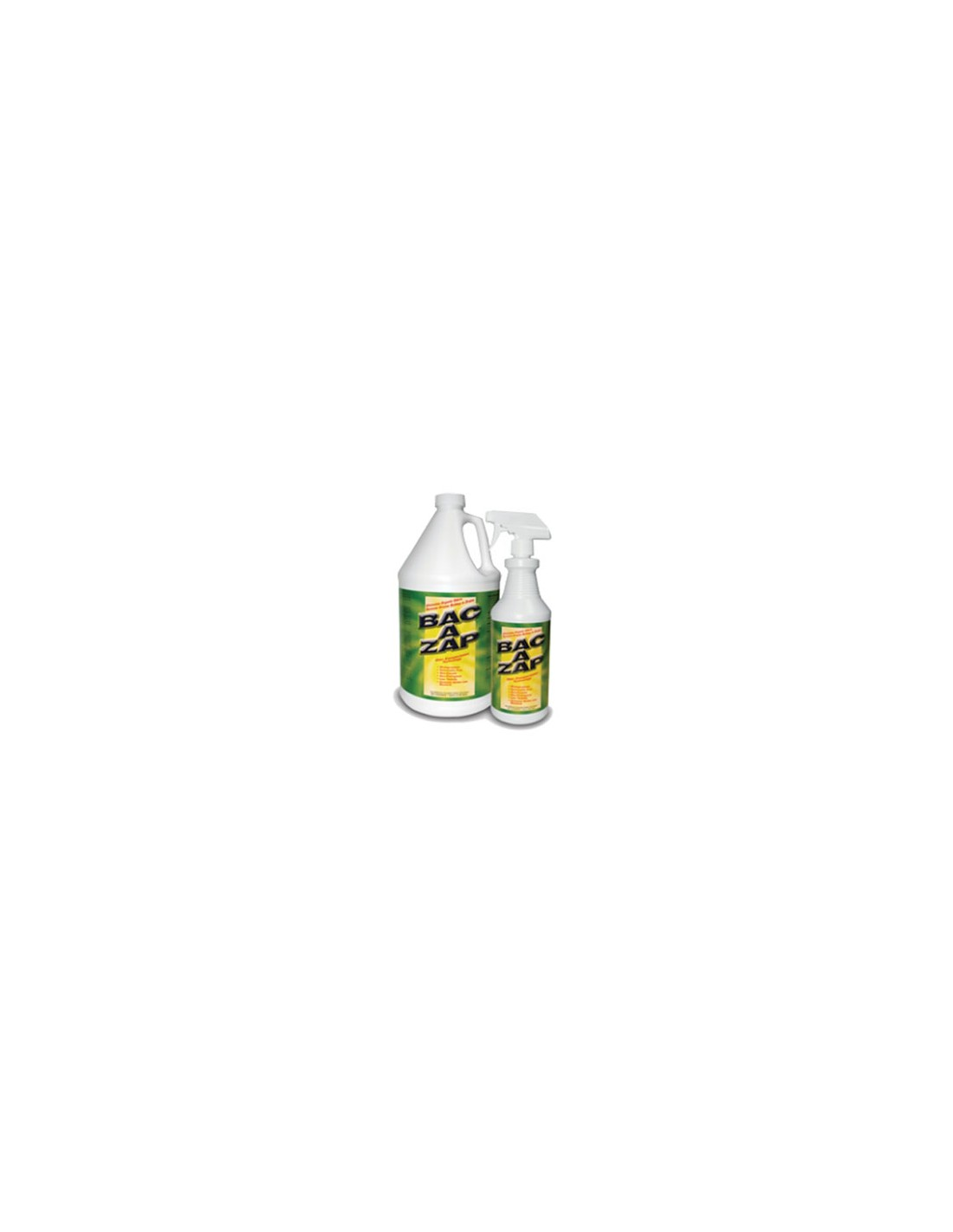 BAC A ZAP Odor Eliminator Questions & Answers