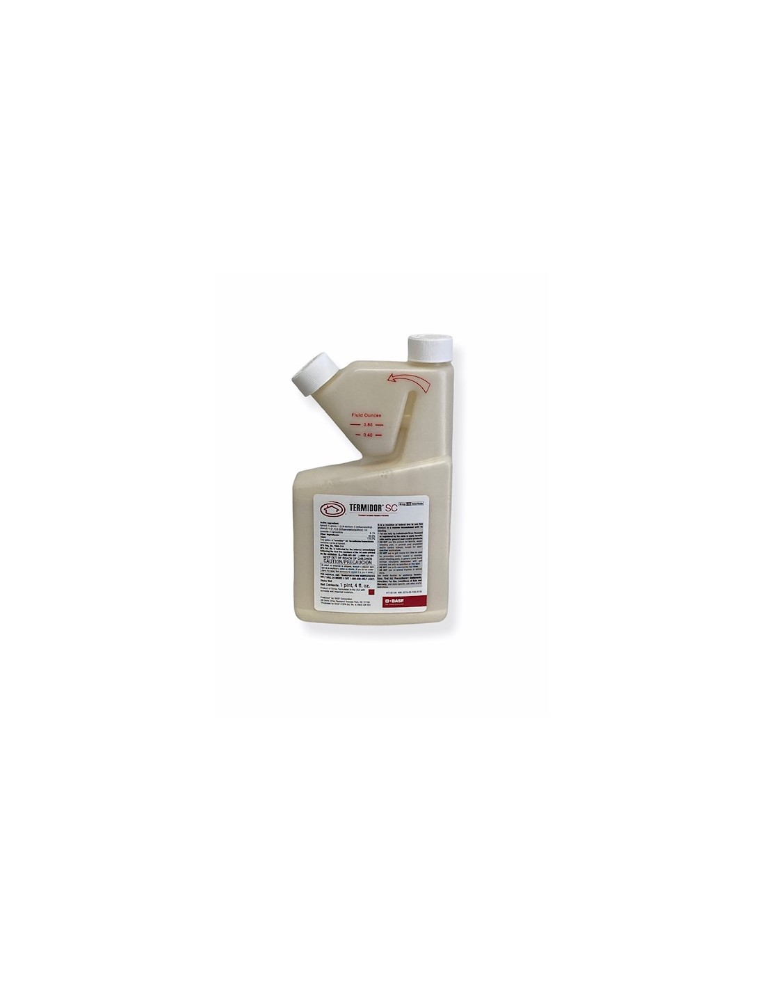 Is it safe to spray termador any where but the earth foundation?