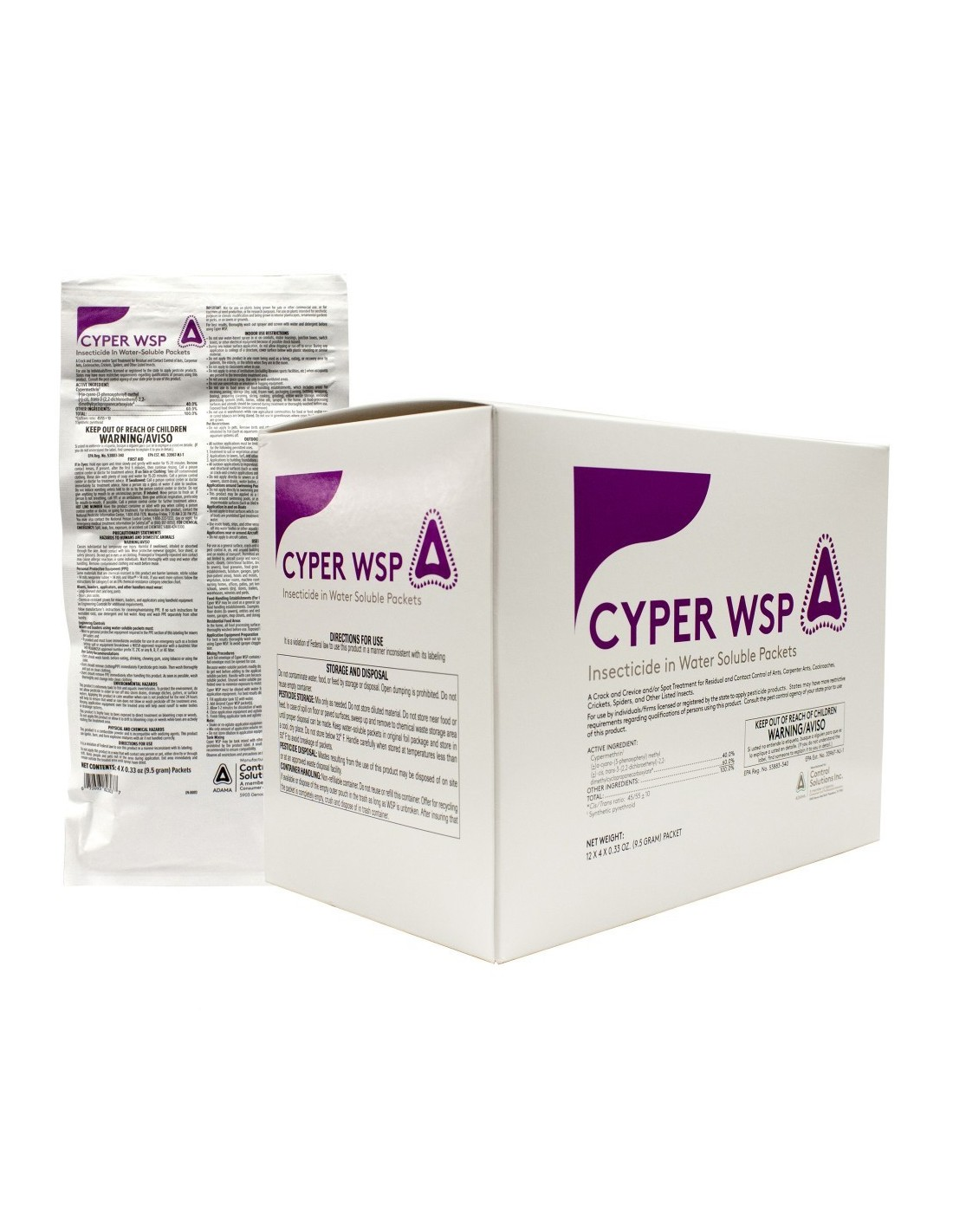 Cyper WSP Insecticide In Water Soluble Packets